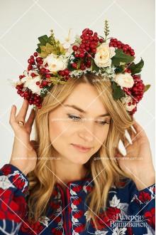 Український вінок «Дівчина-калина»