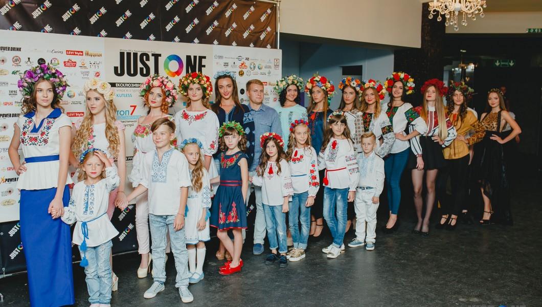 «Галерея Вишиванок» представила колекцію одягу на презентації журналу «Just One»