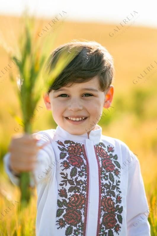 Сорочка для хлопчика «Борщівська»