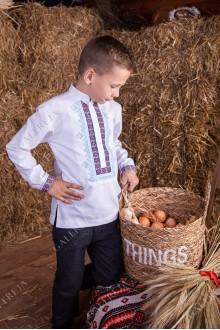 Сорочка вишита для хлопчика «Шкільна»