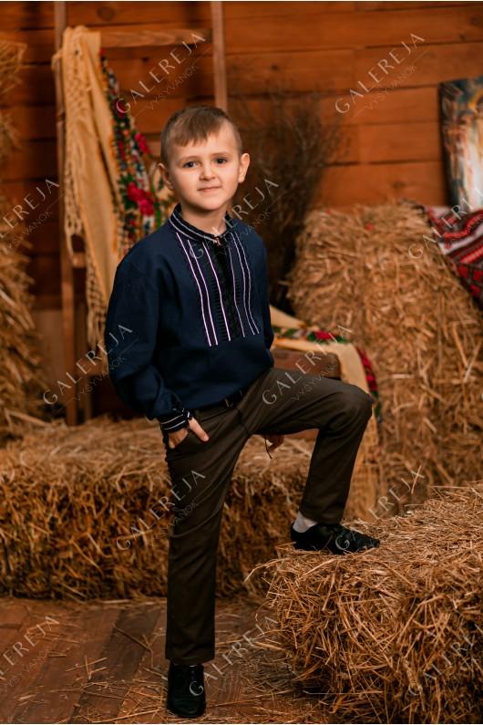 Сорочка вишита для хлопчика «Лаконічна»