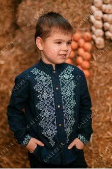 Сорочка вишита для хлопчика «Монохром»