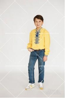 Сорочка вишита для хлопчика «Патріотична»