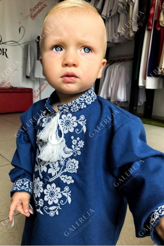 Сорочка вишита для хлопчика  «Жар-птиця»