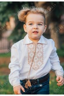 Сорочка вишита для хлопчика «Лев»