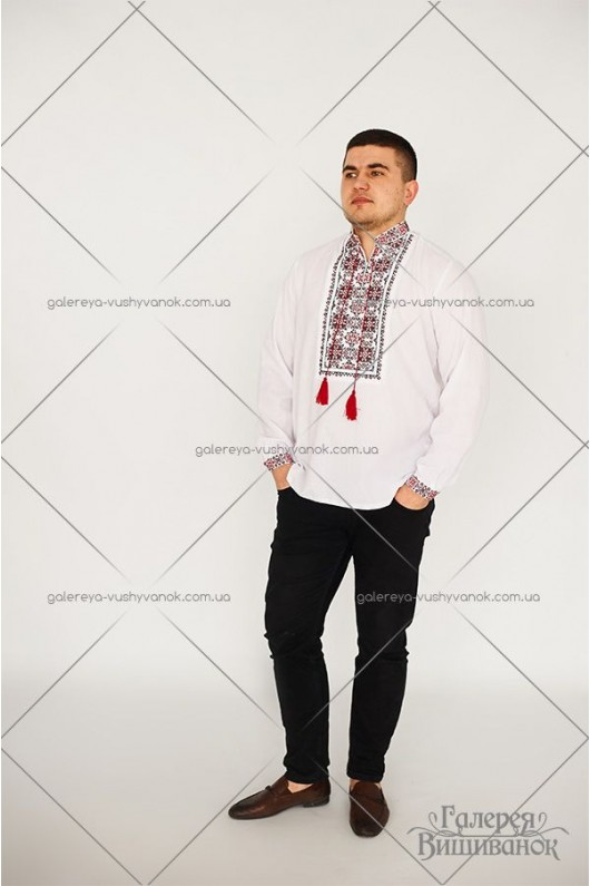 Чоловіча сорочка «Вадим» та сукня «Вероніка-фатін»