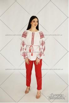Чоловіча сорочка та жіноча блузка «Червоні зорі»