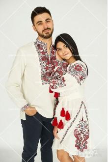 Чоловіча сорочка «Людвіг», сукні для жінки та дівчинки «Людмила»