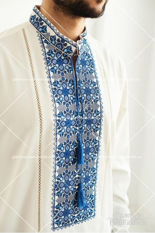 Чоловіча вишита  сорочка «ГВ1191»  і жіноча блузка «ГВ2192»