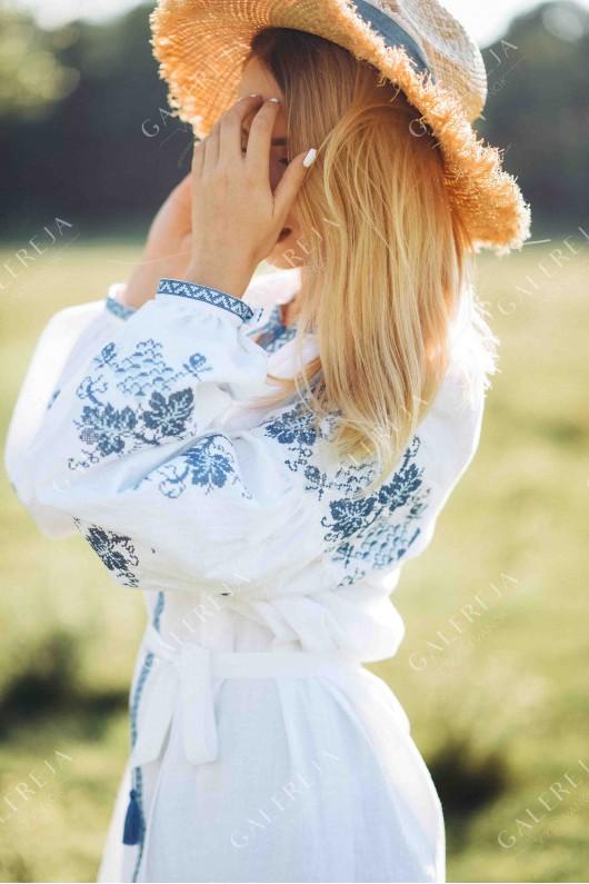 Сукня вишита «ГВ6231» та вишита сукня для дівчинки «ГВ4232»
