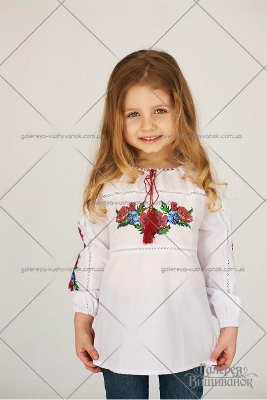 Блузка для дівчинки «ГВ4051»