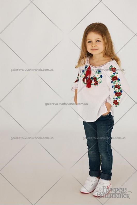 Блузка для дівчинки «Орися»