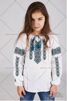 Блузка вишита для дівчинки «ГВ4411»