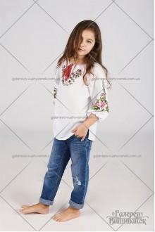 Блузка для дівчинки «Лілія»