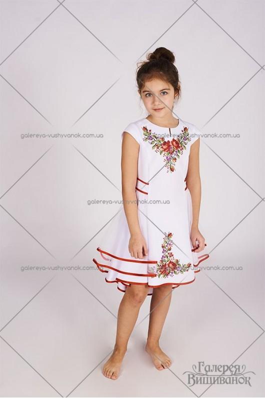 Сукня для дівчинки «Єва-фатин»