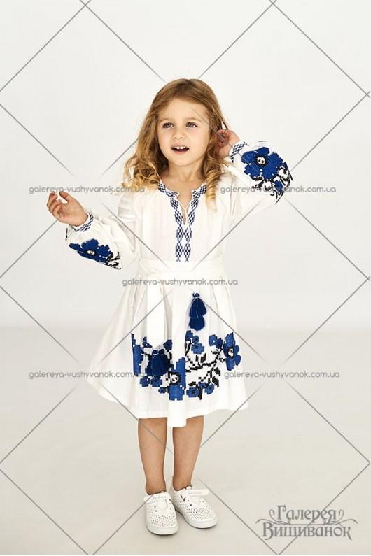 Сукня для дівчинки «Квіти Праги»