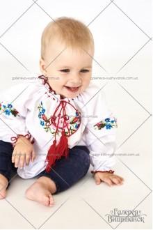 Блузка вишита для дівчинки «Віра-міні»