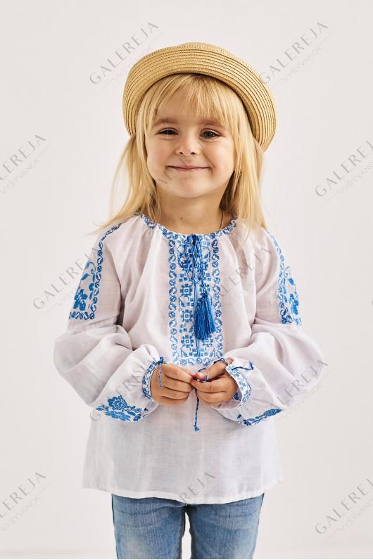 Блузка вишита для дівчинки «Жар-птиця»