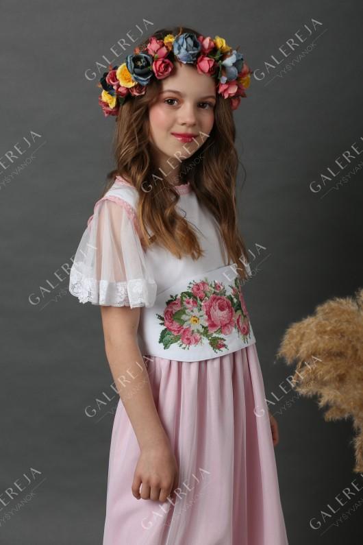Ексклюзивна вишита сукня для дівчинки «Ромашка»