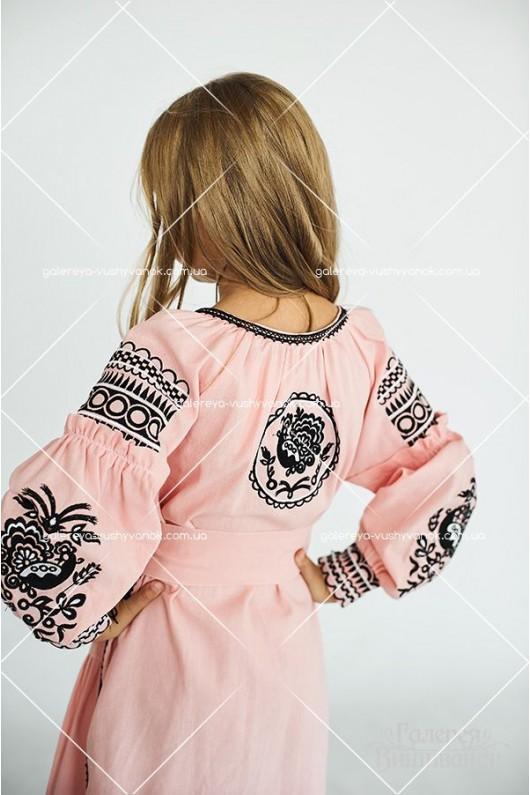 Сукня для дівчинки «Пава»