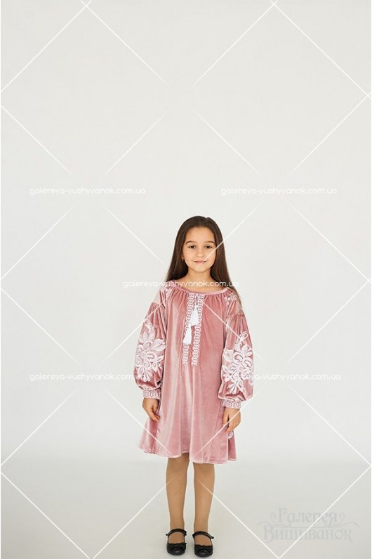 Сукня для дівчинки «Оксамит»