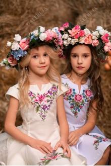 """Вишита сукня для дівчинки """"Лілія-фатин"""""""