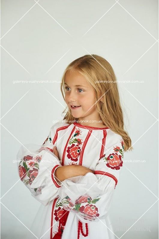 Сукня для дівчинки «Троянди»