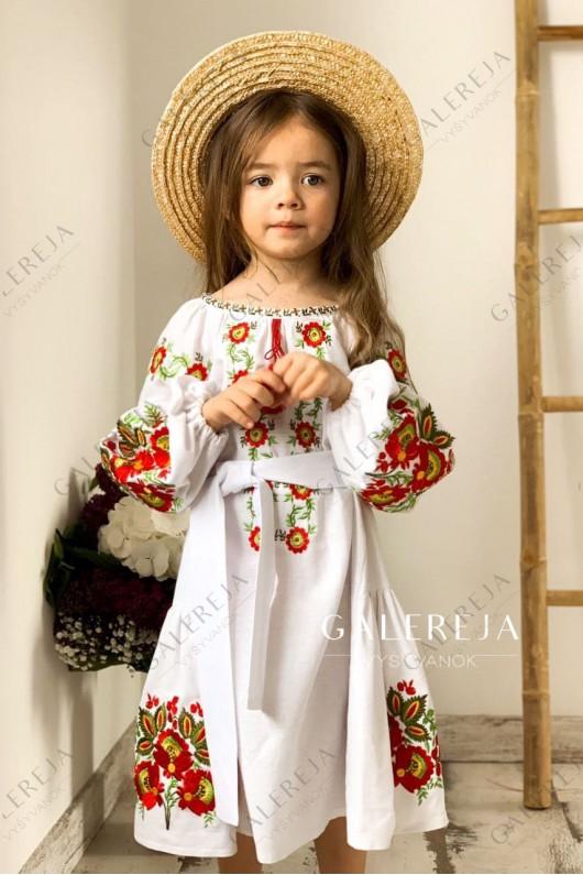 """Вишита сукня для дівчинки """"Вікторія"""""""