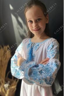 """Вишита сукня для дівчинки """"Мороз"""""""