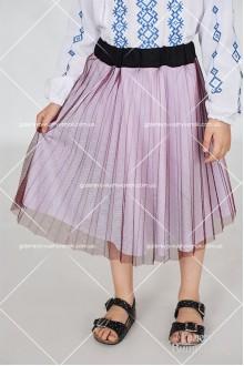 Вишитий костюм для дівчинки «Борщівка»