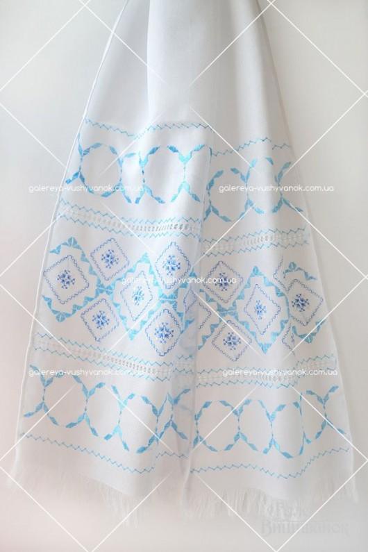 Весільний рушник «Блакитний ранок»