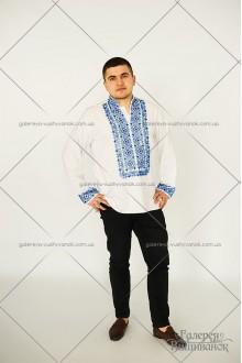 Чоловіча сорочка «Бісер-рубка»