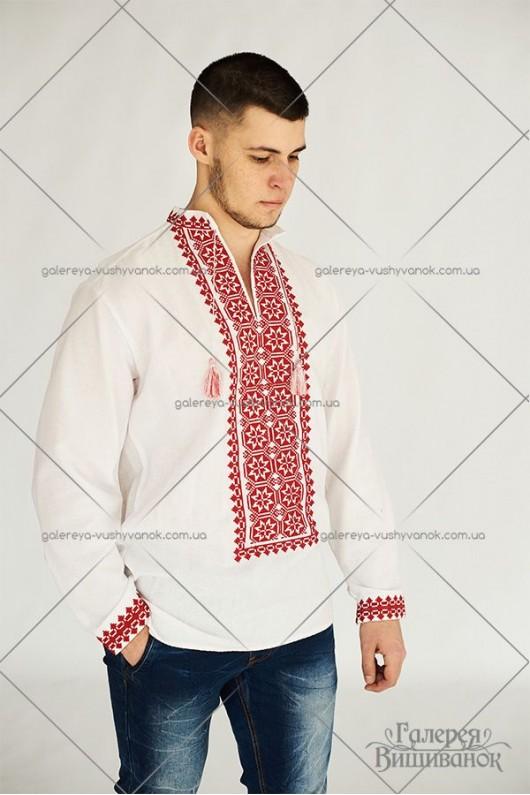 Чоловіча сорочка «Червоні зорі»