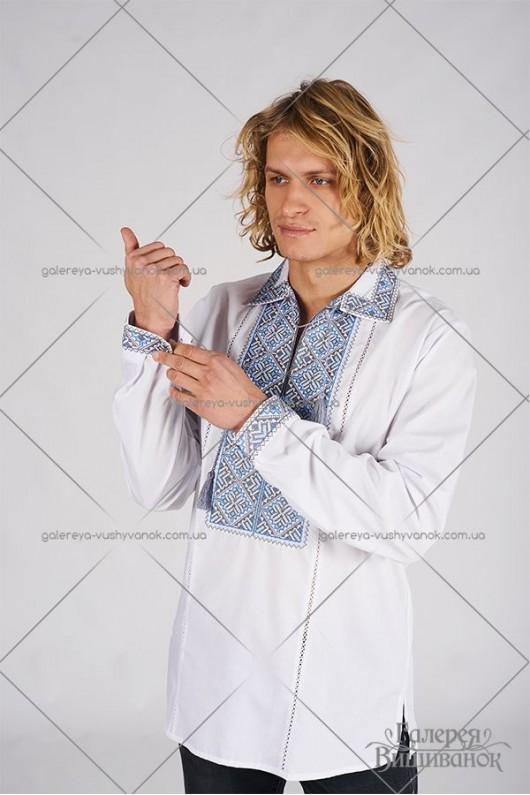 Чоловіча вишита сорочка «ГВ1021»