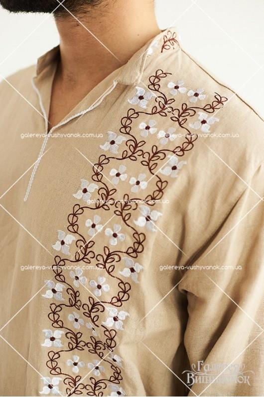 Чоловіча сорочка «Цвіт яблуні»