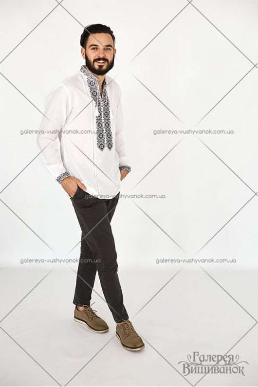 Чоловіча вишита сорочка «ГВ1411»