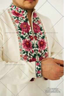 Чоловіча сорочка «Жоржини»