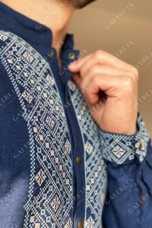 Чоловіча вишита сорочка «Дрібні зорі»
