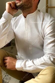 Чоловіча вишита сорочка «Іній»