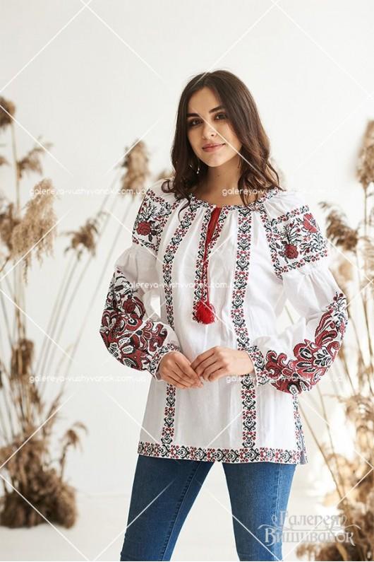 Жіноча вишита туніка «Людмила»