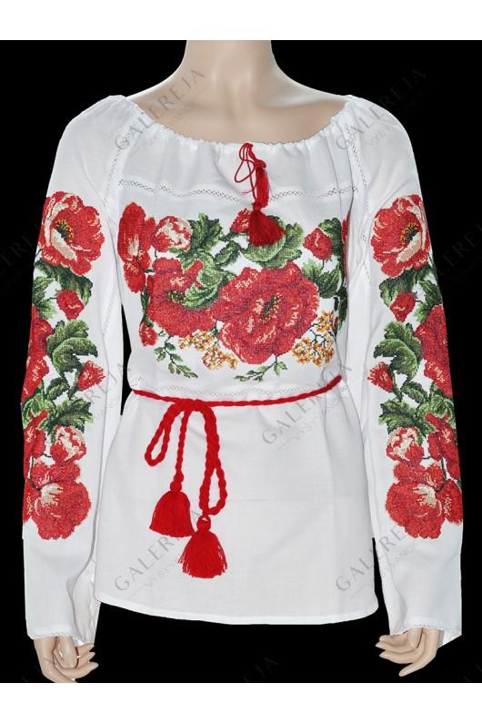 Жіноча вишита блузка «ГВ2101»