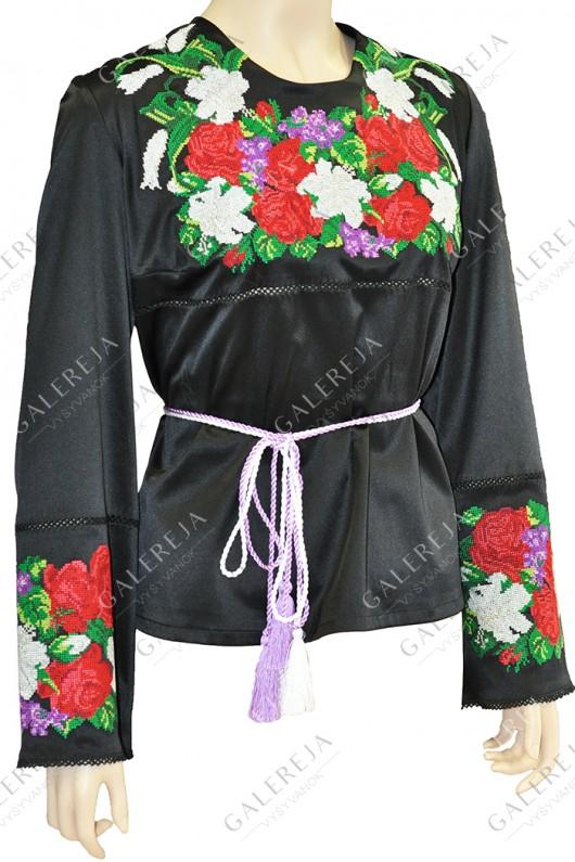 Жіноча вишита блузка «ГВ2091»