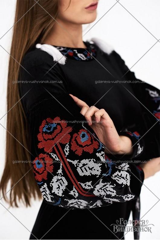 Жіночий комбінезон «Оксамитова троянда»