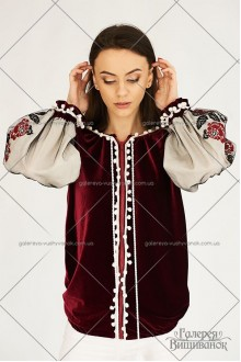 Жіноча блузка «Бомбер-оксамит»