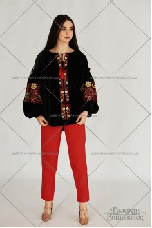 Жіноча блузка «Оксамит»
