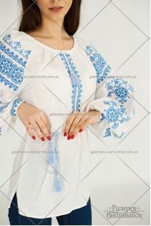 Жіноча блузка «Голубі зорі»
