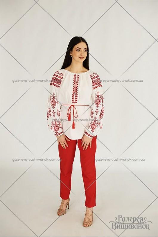 Жіноча блузка «Червоні зорі»