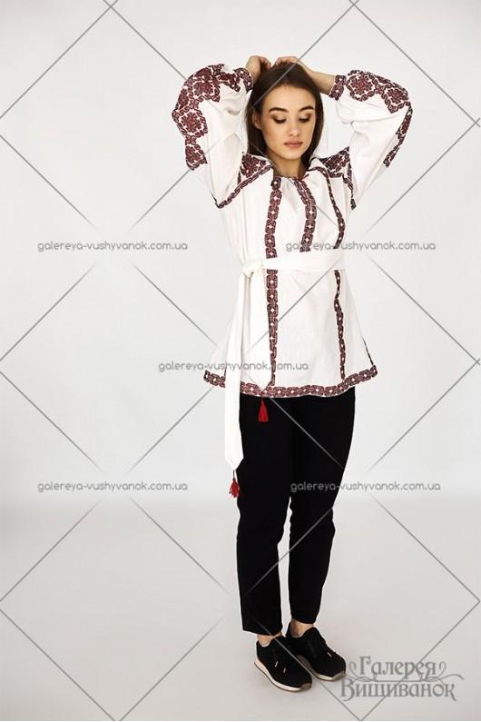 Жіноча вишита туніка «Любомира»