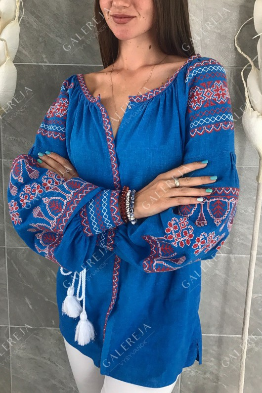 Жіноча вишита блузка «Ксеня»