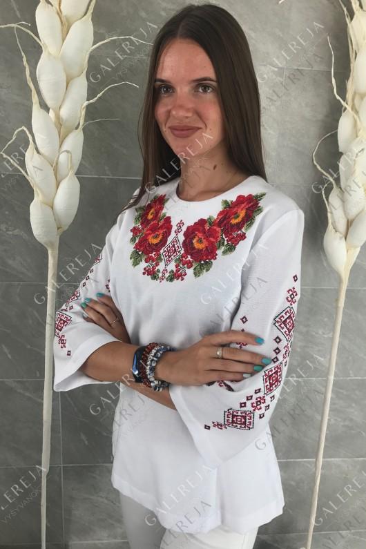 Жіноча вишита блузка «Оксана»